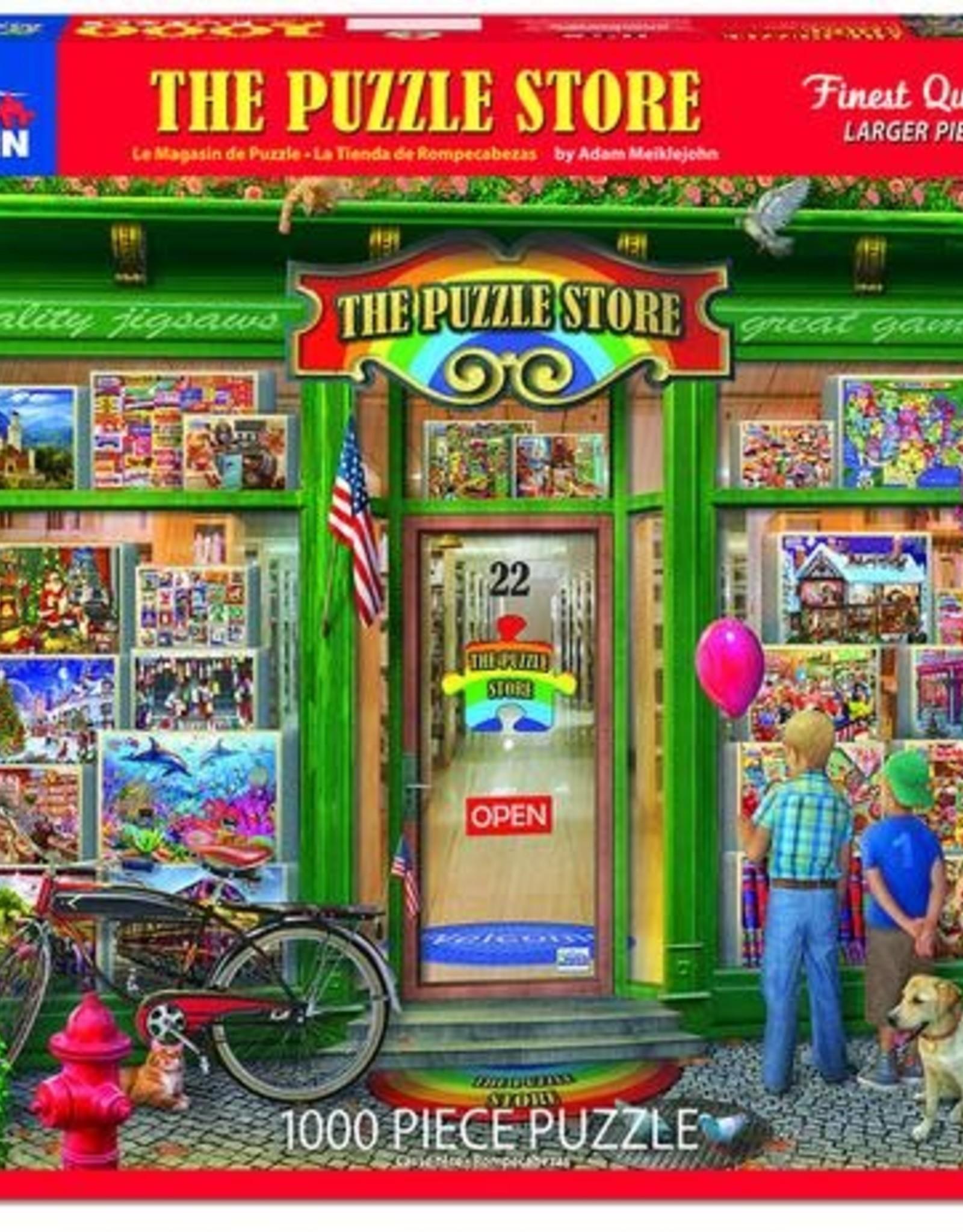 White Mountain Puzzles Puzzle Shop 1000pc Puzzle