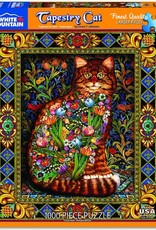 White Mountain Puzzles Tapestry Cat 1000pc Puzzle
