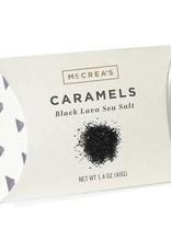 McCrea's Candies Black Lava Sea Salt Caramels-5 pc
