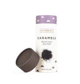McCrea's Candies Black Lava Sea Salt Caramels 5.5 oz