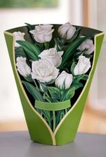 Fresh Cut Paper White Roses