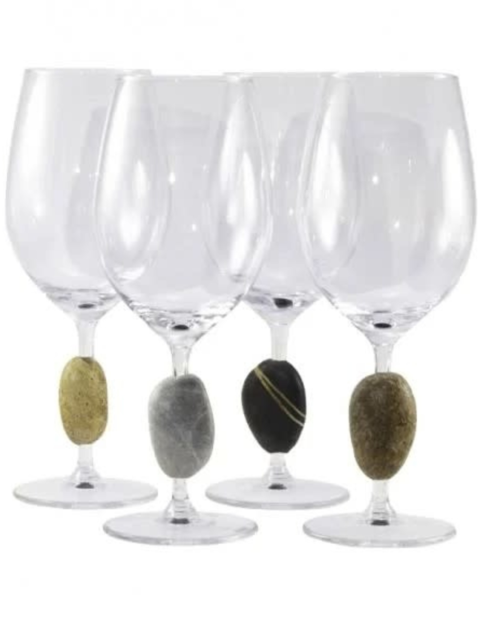 Sea Stones Inc. Touch Stone Wine Glass - Each