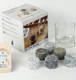 Sea Stones Inc. On the Rocks Chillers (set of 6/tray/2 tumblers)