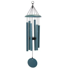 """Wind River Chimes 27"""" Patina Green Chime"""