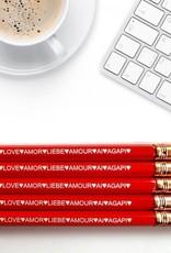 Fresh Prints of CT Love Languages Pencils