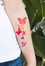 Tattly Coral Butterflies