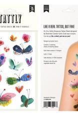 Tattly Butterfly Frenzy Sheet