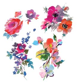 Tattly Watercolor Florals