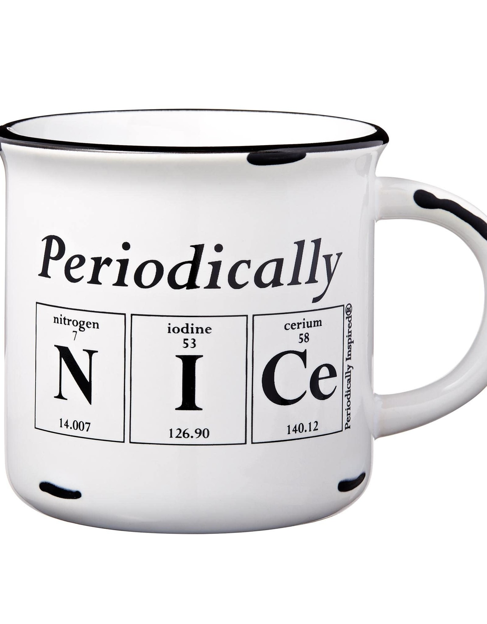 Periodically Inspired Periodically Nice Mug