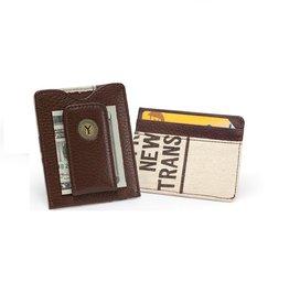Tokens & Icons NY Token & Bag Money Clip Tan