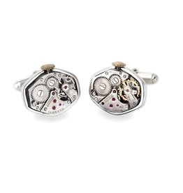 Tokens & Icons Watch Movement Cuff Links