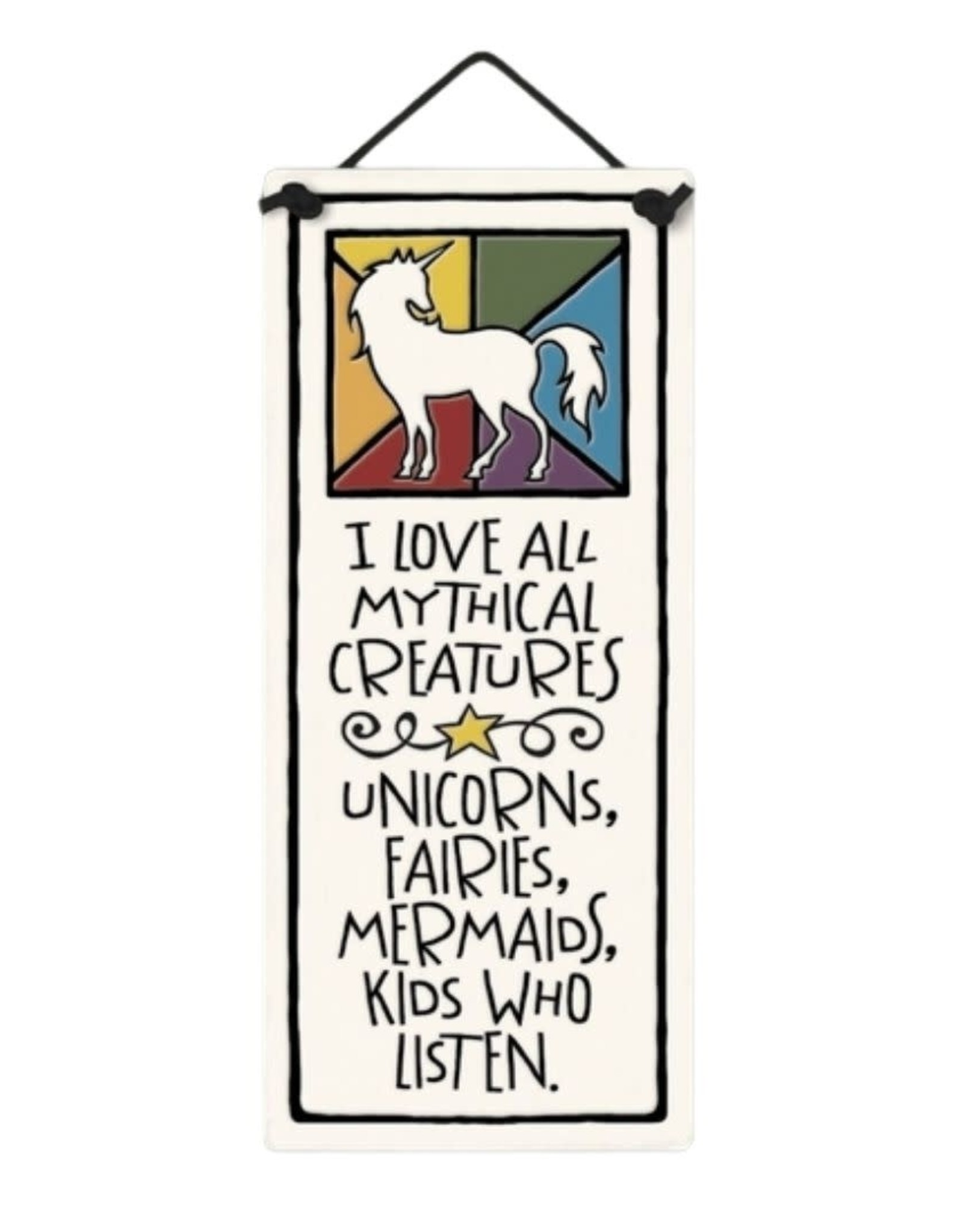 Spooner Creek Designs Mythical Creatures Wall Plaque