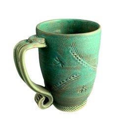 Spooner Creek Designs Hand Thrown Mug - Green