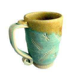 Spooner Creek Designs Hand Thrown Mug - Teal