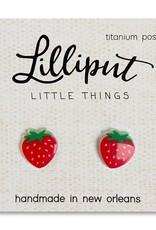 Lilliput Strawberry Earrings