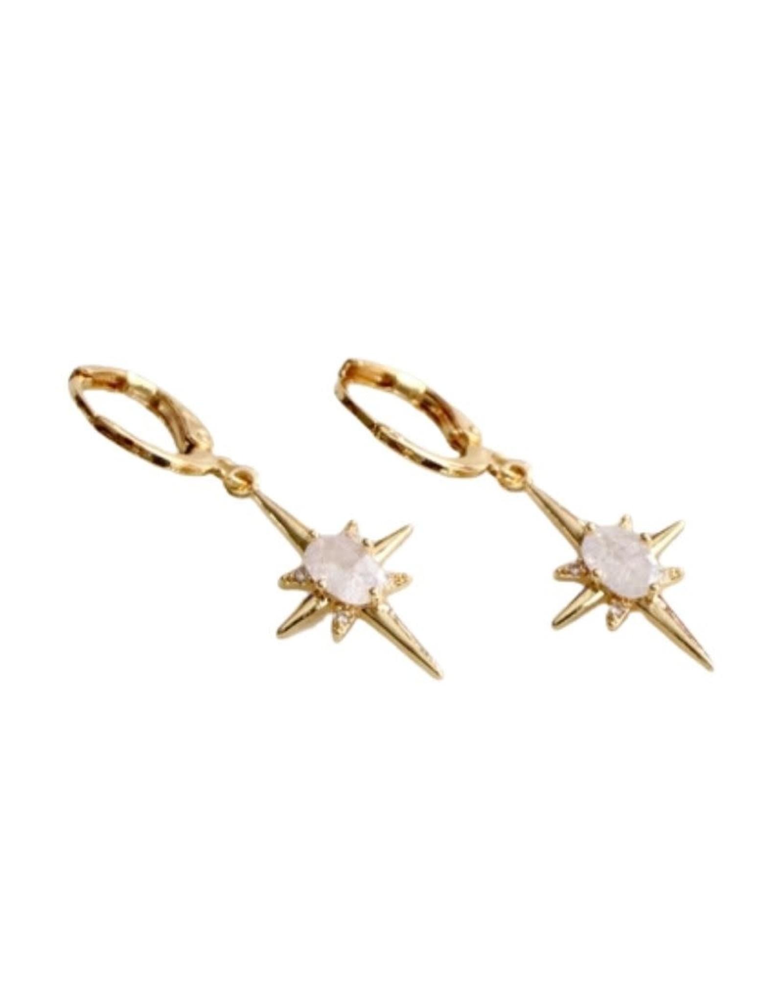 Mesa Blue Romantic Star Earrings