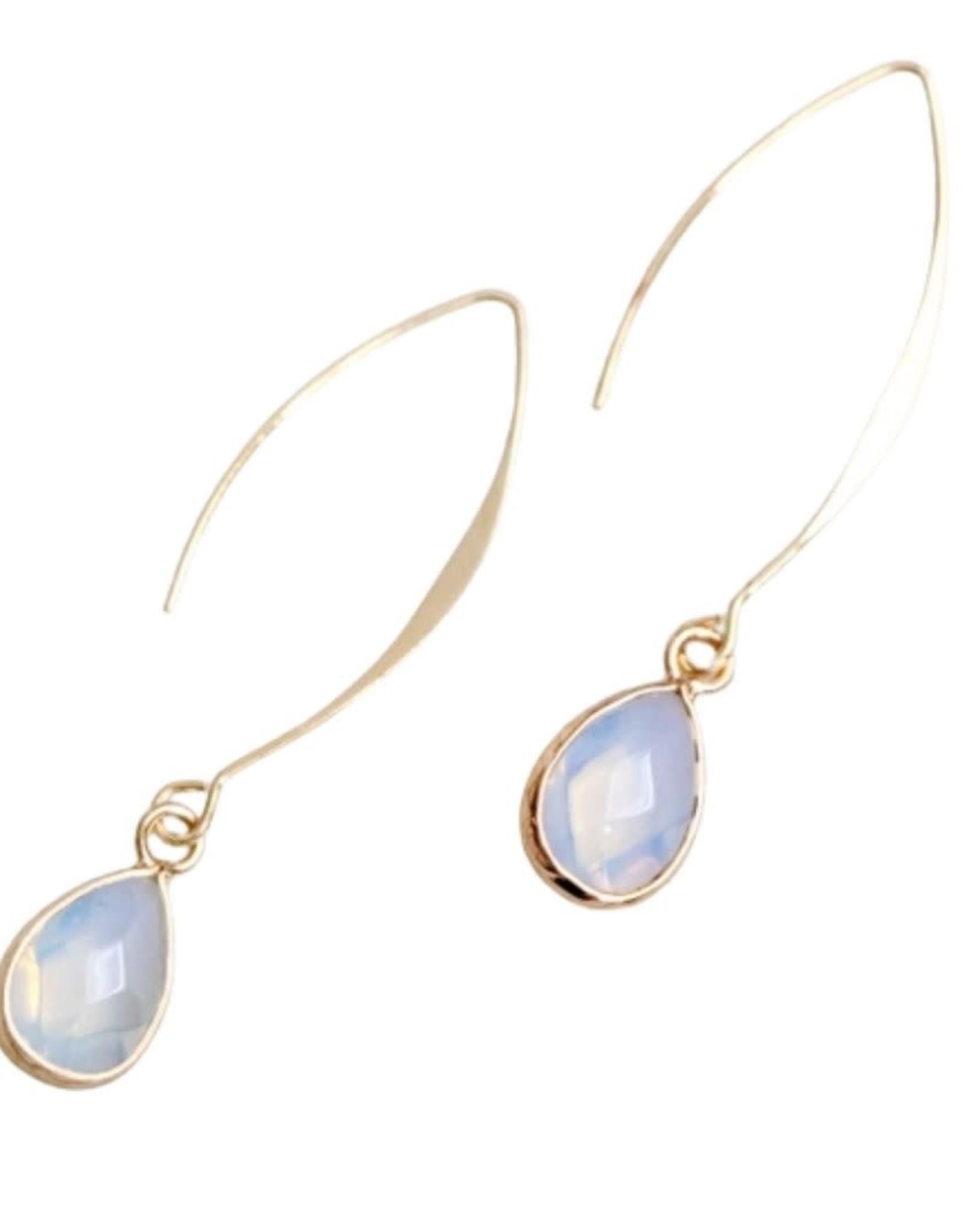 Mesa Blue Opalite Drop Earrings