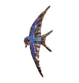 Trovelore Barn Swallow Brooch Pin