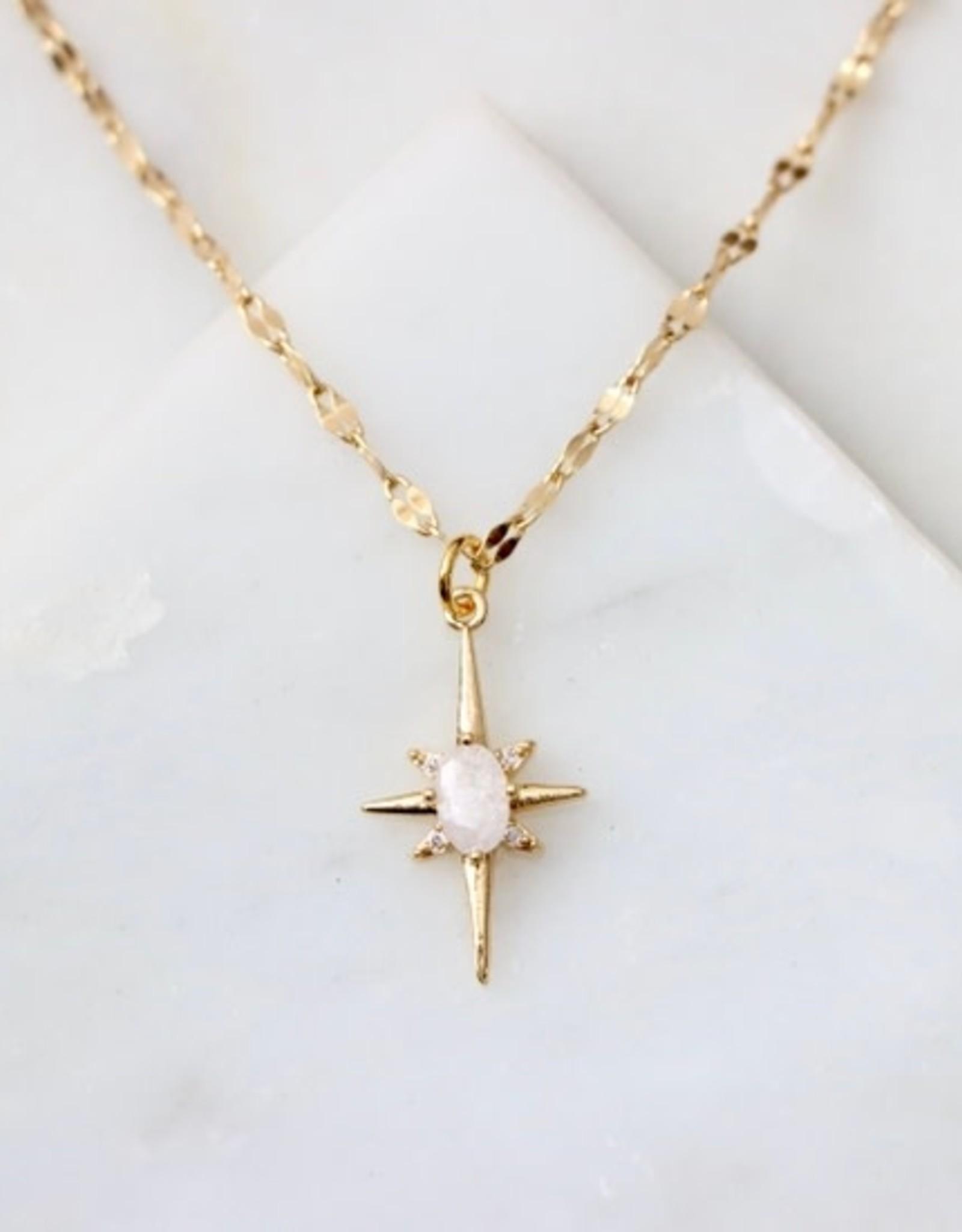 Mesa Blue Romantic Star Necklace