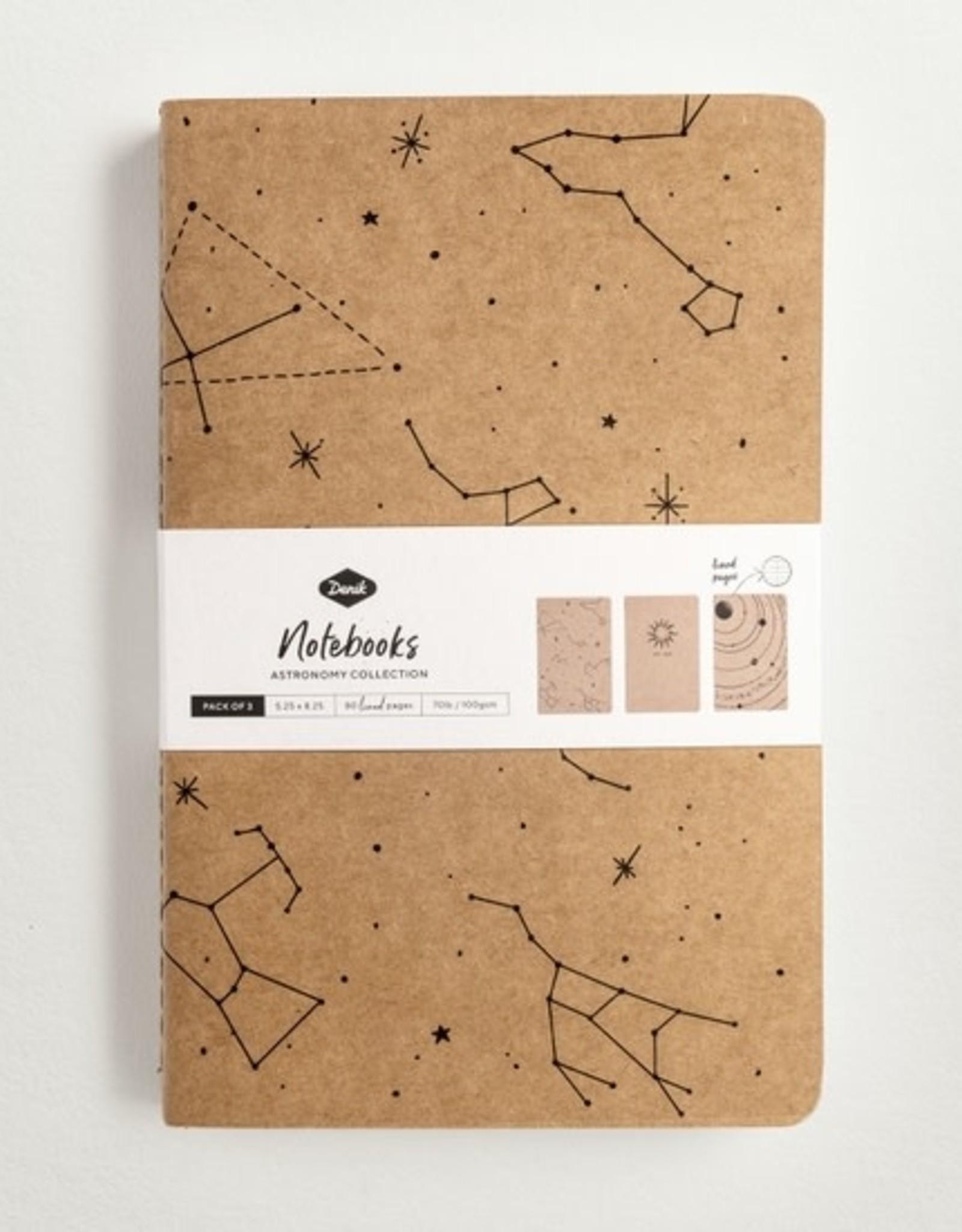 Denik Astronomy 3 Pack Notebook