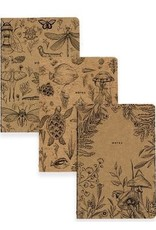 Denik Earth Collection 3 Pack Notebook