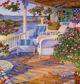 White Mountain Puzzles On The Water 300pc Puzzle