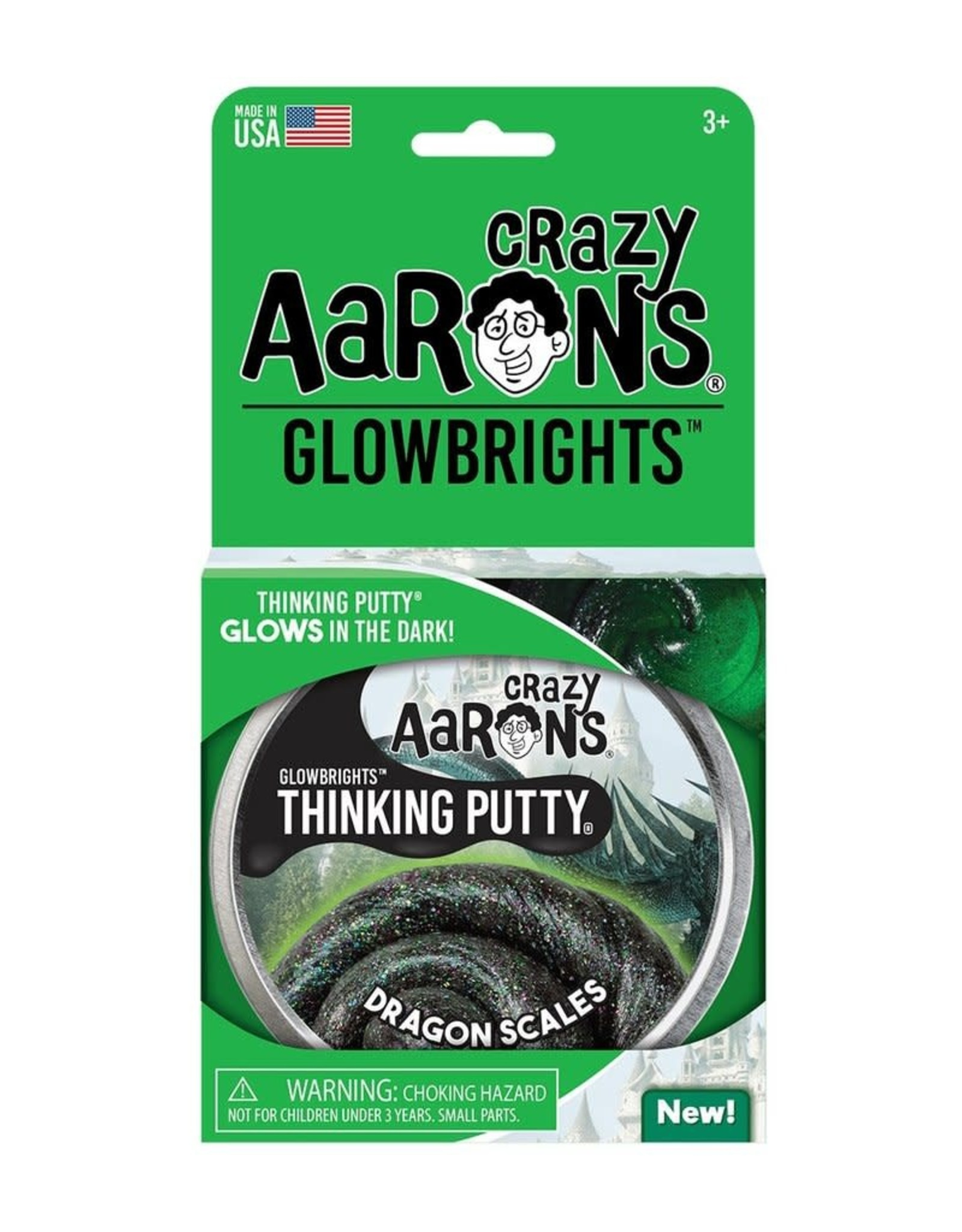 Crazy Aarons Putty 4'' Dragon Scales - Crazy Aaron's Thinking Putty
