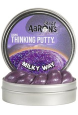 Crazy Aarons Putty 4'' Milky Way- Crazy Aaron's Thinking Putty