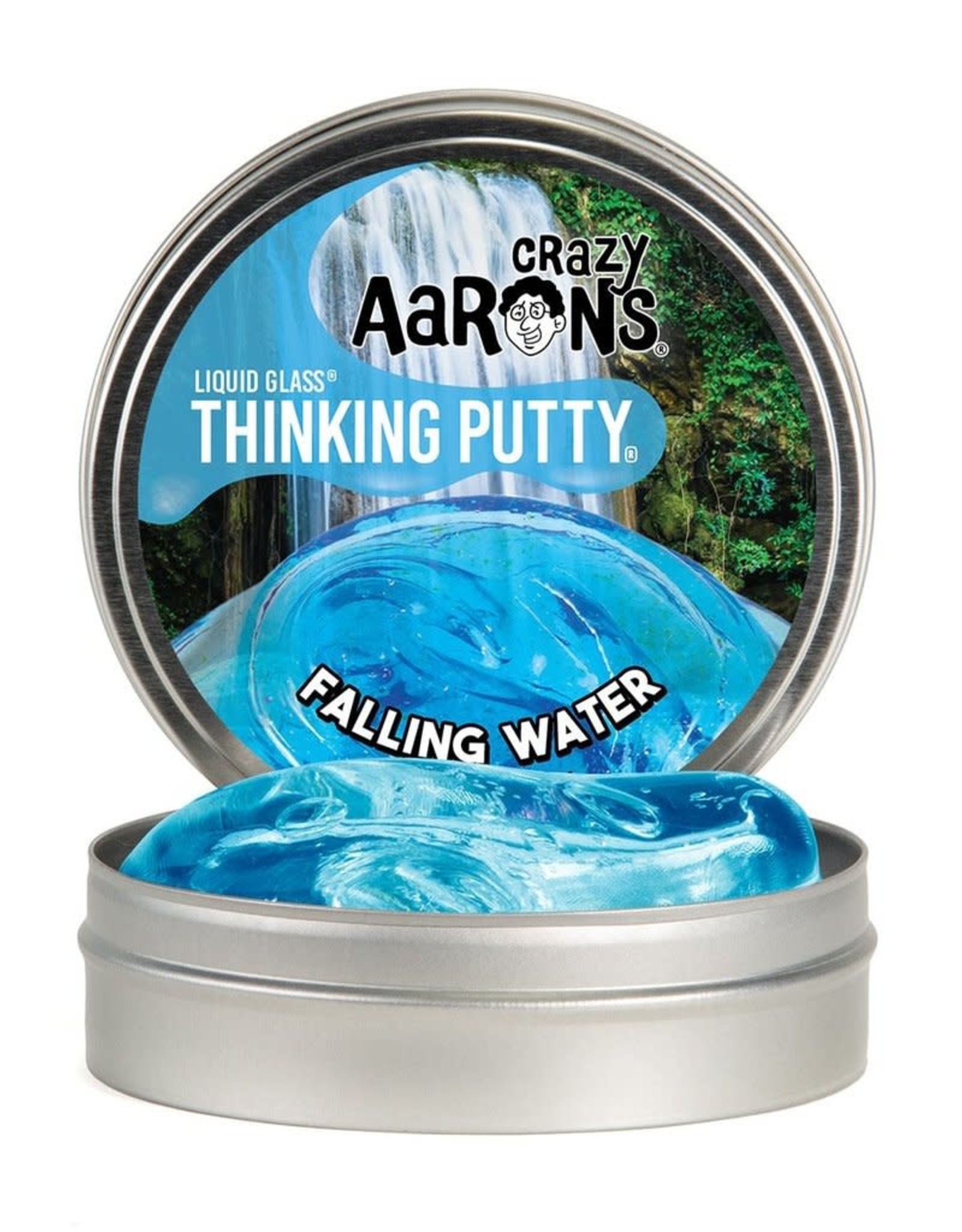 Crazy Aarons Putty 4'' Falling Water - Crazy Aaron's Thinking Putty
