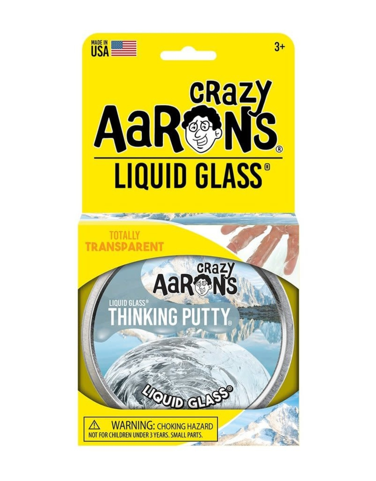Crazy Aarons Putty 4'' Liquid Glass-Crazy Aaron's Thinking Putty
