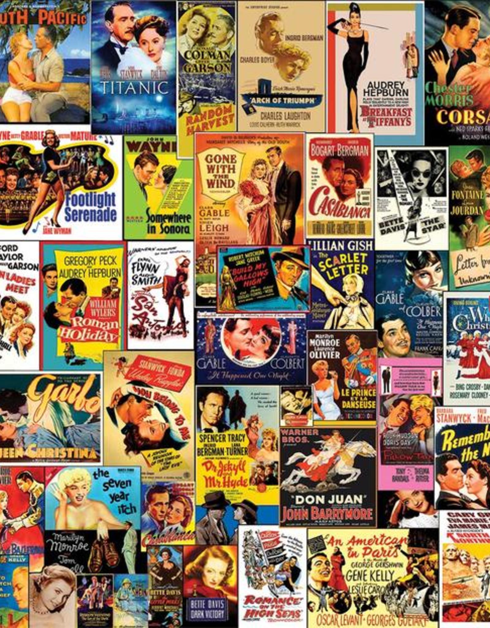 White Mountain Puzzles Movie Classics 300pc Puzzle