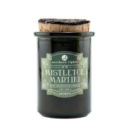 Northern Lights Candle - Spirit Jar - Mistletoe Martini