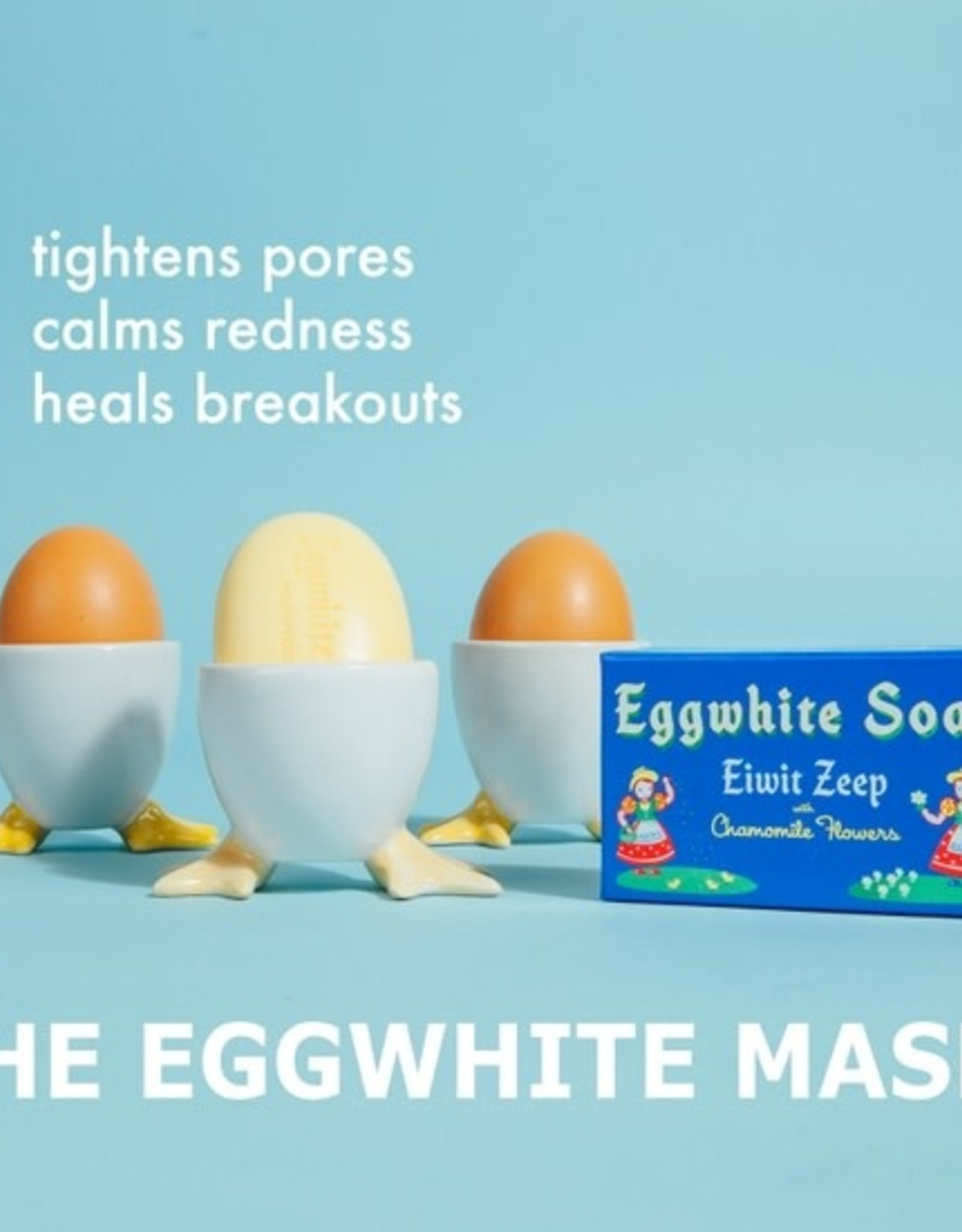 kalastyle Eggwhite & Chamomile Flower Facial Soap