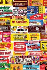 White Mountain Puzzles Candy Wrappers 1000pc Puzzle
