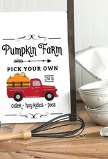 Kitchen Billboards Pumpkin Farm Truck Kitchen Towel