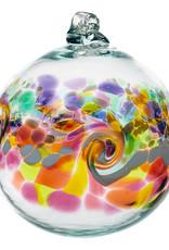 """Kitras Glass 6"""" Color Wave - Dessert Flower"""
