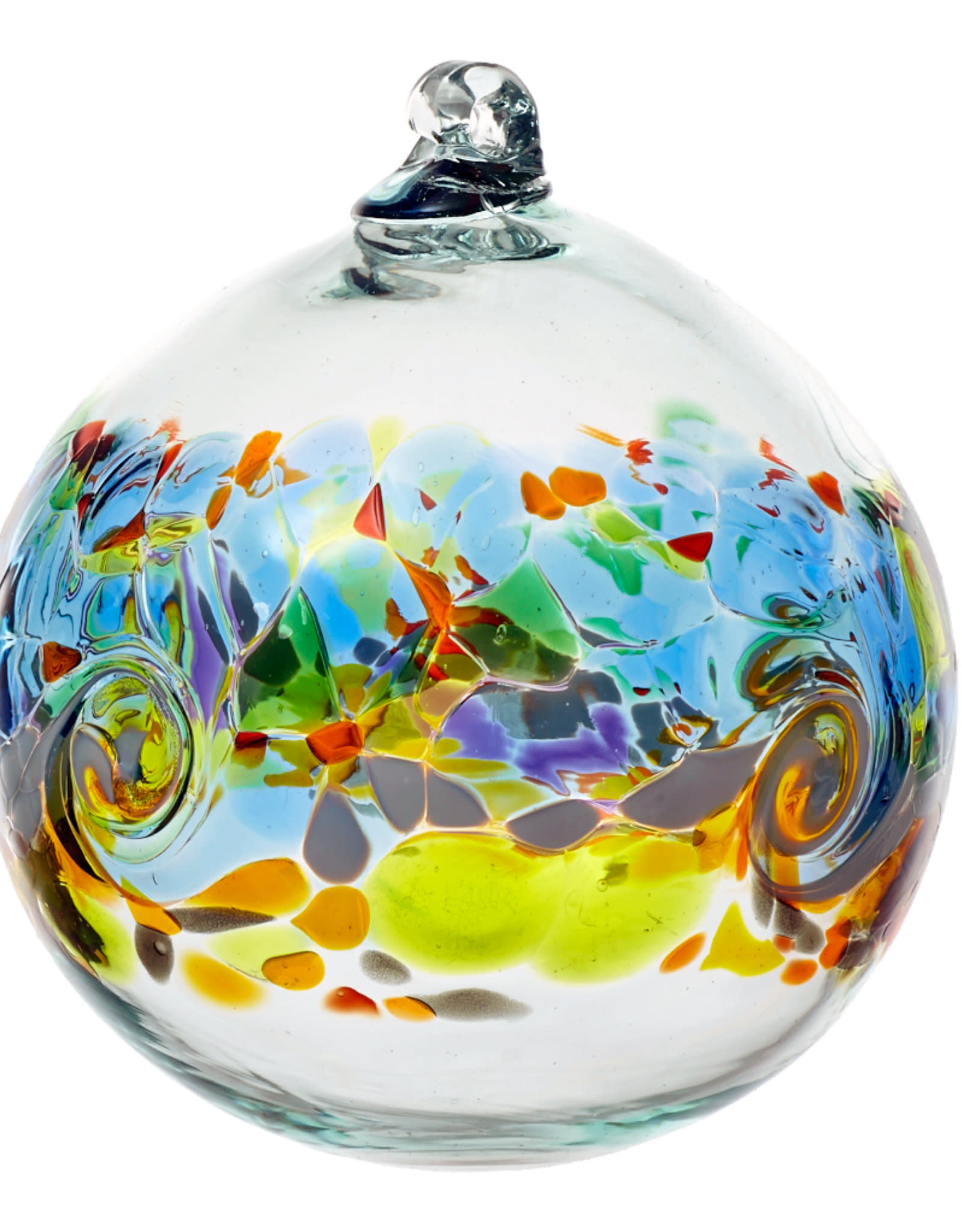 """Kitras Glass 6"""" Color Wave - Golden Dawn"""