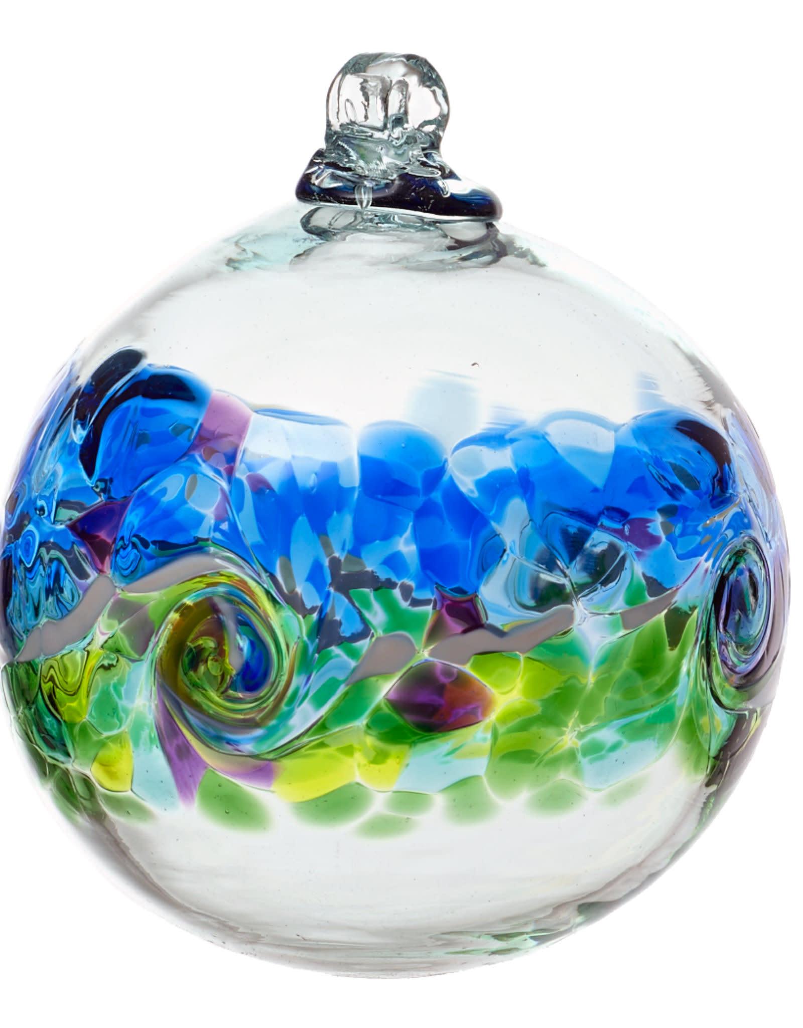 "Kitras Glass 6"" Color Wave - Ocean Breeze"