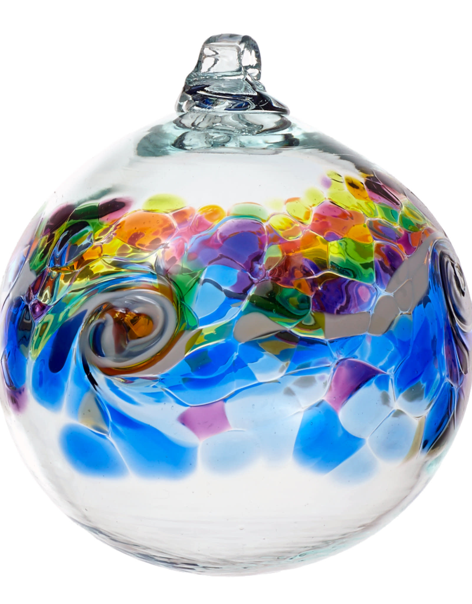 """Kitras Glass 6"""" Color Wave - Winter Shadow"""