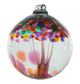 "Kitras Glass 6"" TOE Ball - Gratitude"