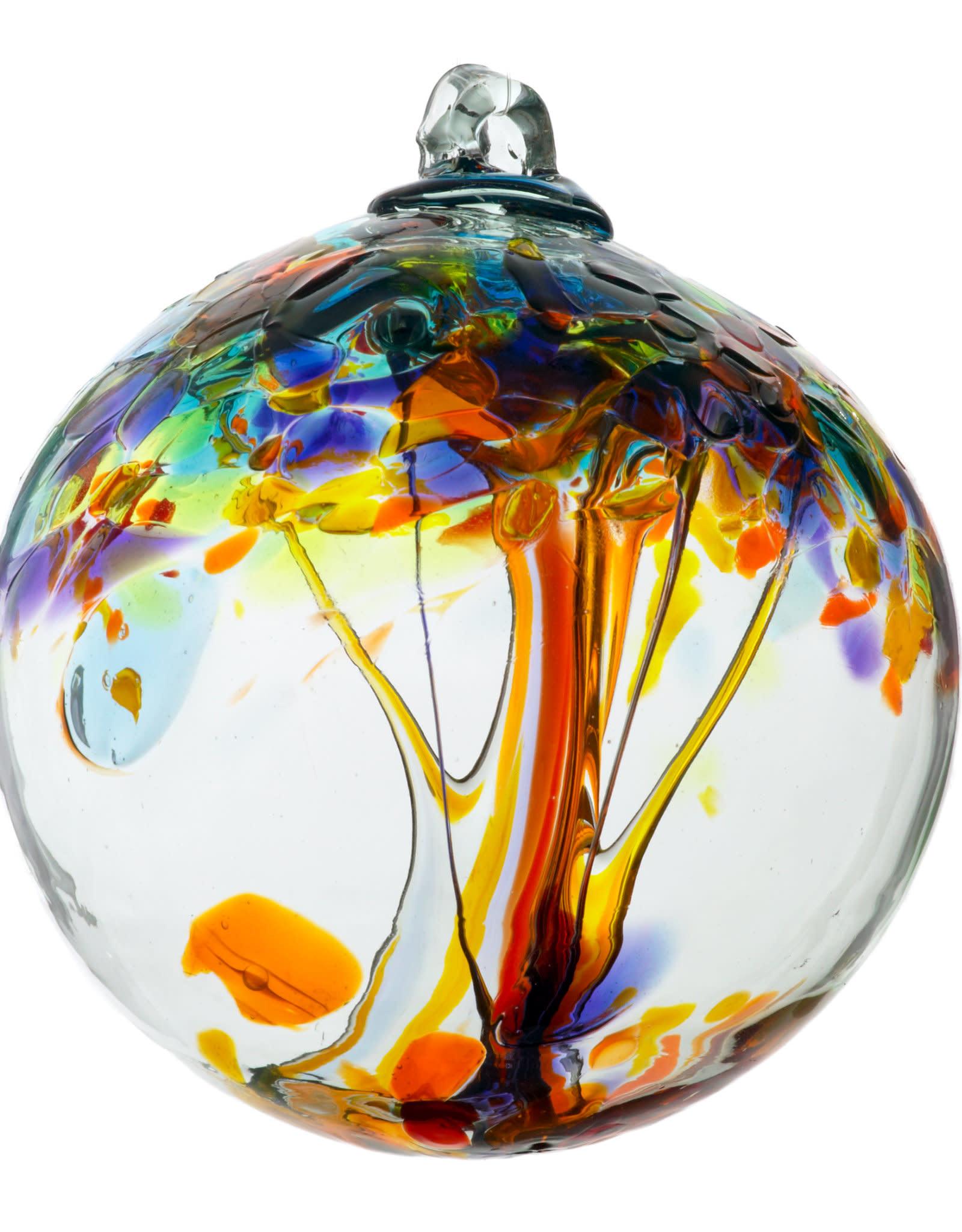 "Kitras Glass 6"" TOE Ball - Happiness"