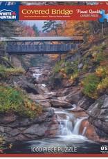 White Mountain Puzzles Covered Bridge 1000pc Puzzle