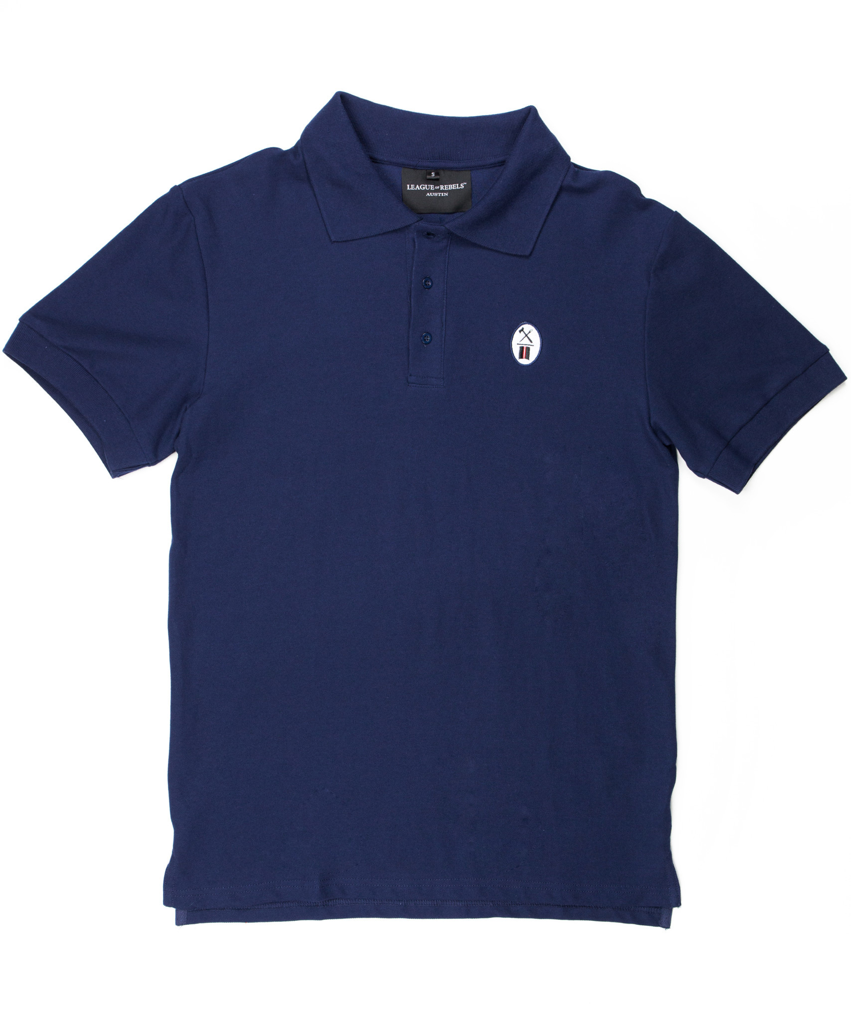 Essential Navy Polo-1
