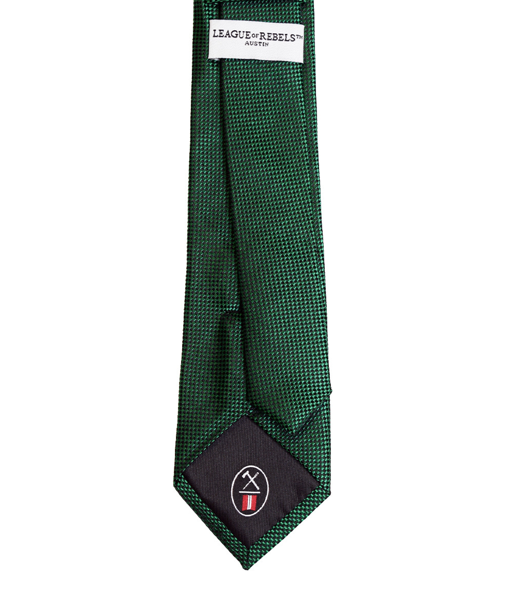 Green 'Slim' Necktie-2