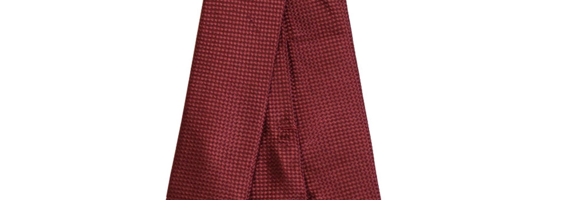 Maroon 'Slim' Necktie