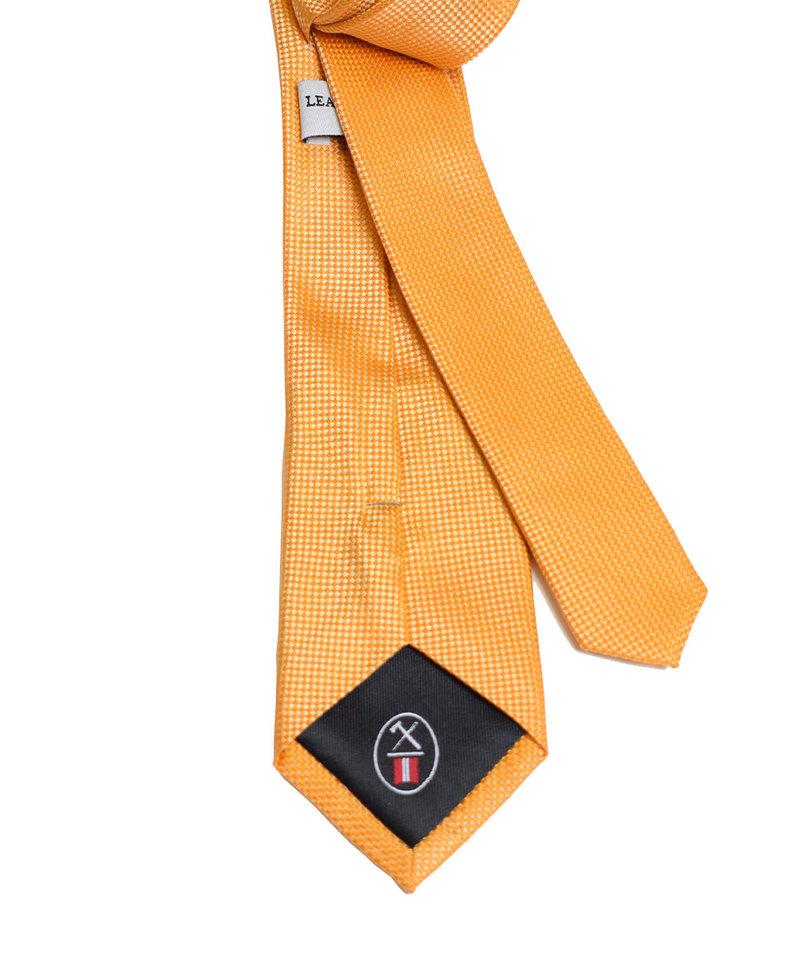 League of Rebels Gold Slim Necktie