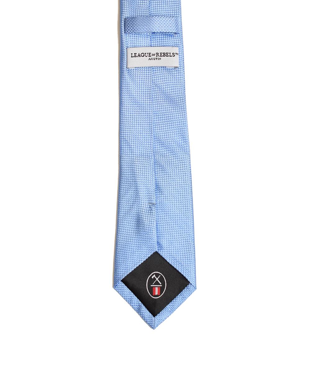 Sky-Blue 'Slim' Necktie-2