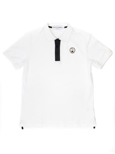 League of Rebels Essential White Polo