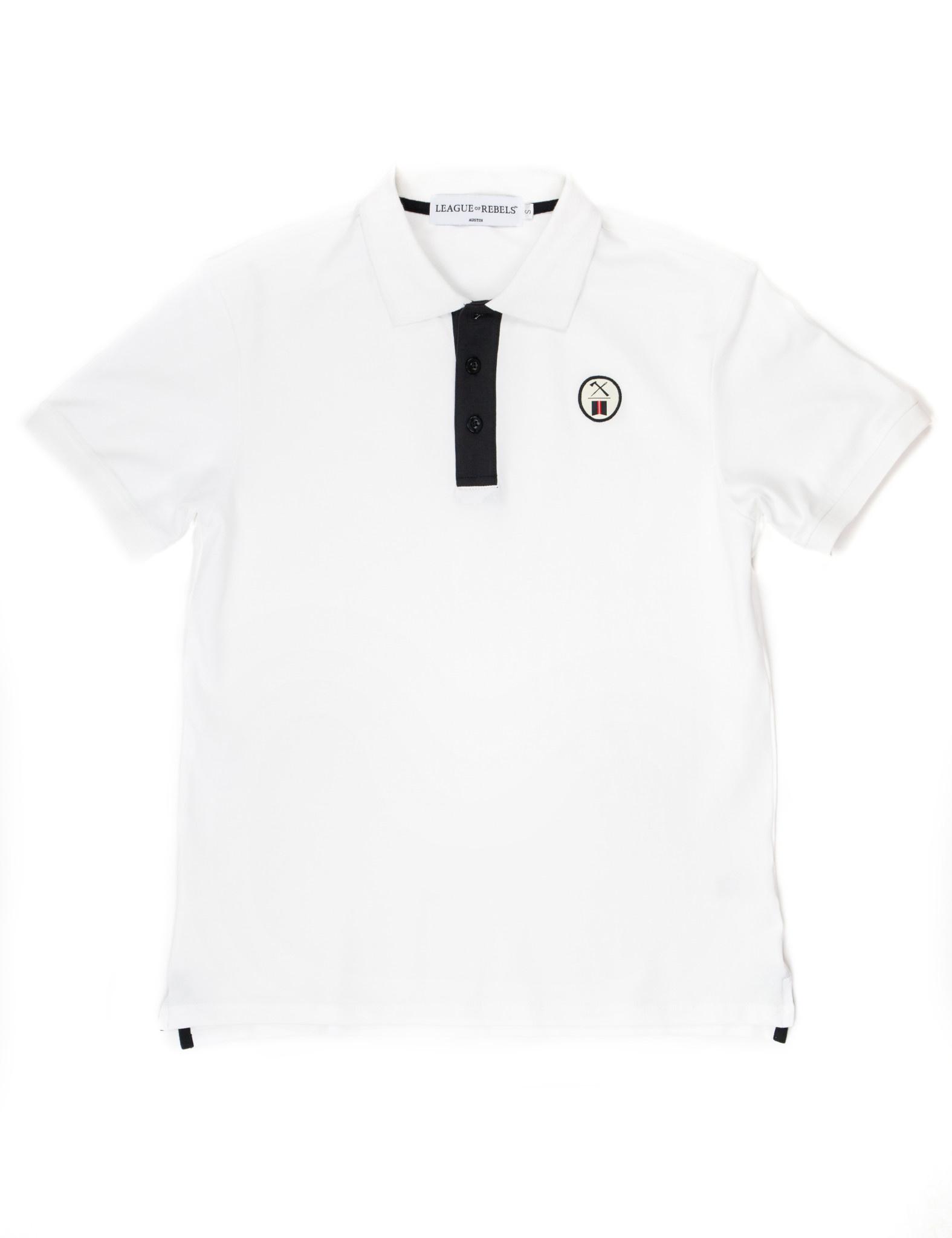 Essential White Polo-1