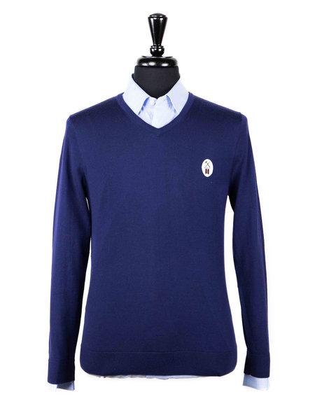 League of Rebels Navy Merino Sweater